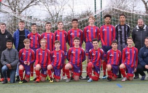 U15 D1 / NOZAY OS ( COUPE INTERSPORT) A 16H